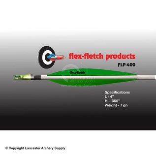 """VANE - Flex Fletch FLP-400 Flo Green 4"""" 39Pk"""