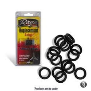BH Rage Replacment O-Rings (Approximately 40)