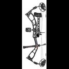 "Elite Compound Bow Elite 2021 Ember RTS RH Ninja -Black 10-60# 15-29""Draw"