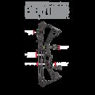 Hoyt Compound bow Hoyt 2021 Torrex RH Camo Package