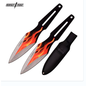 Perfect Point Knives K-PP-108-2 Perfect Point Orange Fire Flame Throwing Knives