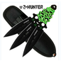 Perfect Point Knives K-ZB-075-3 Z-Hunter Zombie Throwing Knives Set Of 3