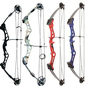 SR Archery Compound Bow SR Archery Fuzion 55# Right Hand Blue