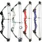SR Archery Compound Bow SR Archery Fuzion 55# Right Hand White