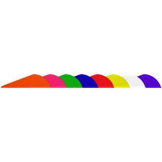 "EASTON TECHNICAL PRODUCTS Vane Easton Bully 2"" F/Green (Box 100)"