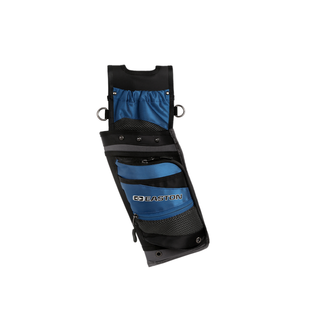 EASTON TECHNICAL PRODUCTS Quiver Easton Deluxe Field Quiver+Belt RH Blue