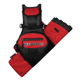 EASTON TECHNICAL PRODUCTS Quiver Flipside Universal LH and RH 4 Tube Red