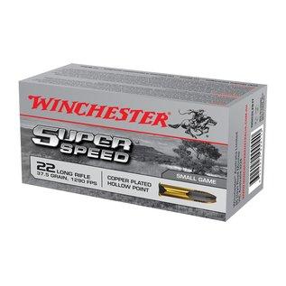 Winchester AMMO 22LR - Winchester Super Speed 37.5Gr HP (Box 50)