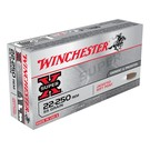 Winchester AMMO 22-250 Rem Winchester Super X 55Gr PSP (Box 20)