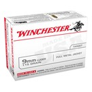 Winchester AMMO 9MM Luger - Winchester 115Gr FMJ (Box 100)