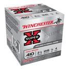 """Winchester AMMO 410 Winchester Super X 1245 #4 2-1/2"""" (1/2Oz) (Box 25)"""