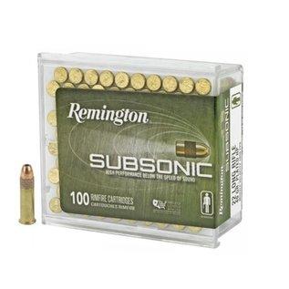Remington AMMO 22LR - Remington Subsonic 40Gr HP  (Box 100)