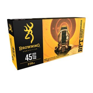 Browning AMMO 45 AUTO Browning BPT 185Gr FMJ (Box 50)