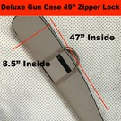 Aries - Aussie Sports Goods Case Gun Aries Delux Rifle Single Zipper Lock 49""