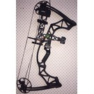 Hoyt Compound Bow Hoyt Klash RTH Package Right Hand Black Out