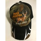 Piper Hunting Cap Born to Hunt Camo/Black Deer Hunter To The Core