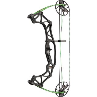 Hoyt Compound Bow Hoyt Klash RTH Package Right Hand Shred Green