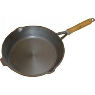 Cooking 10.5In Frypan Wooden Handle