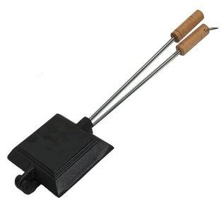 Cooking Single Jaffle Iron