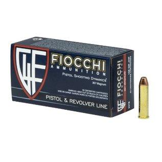 Fiocchi AMMO 357 Mag Fiocchi 158GR JHP (50 Box)