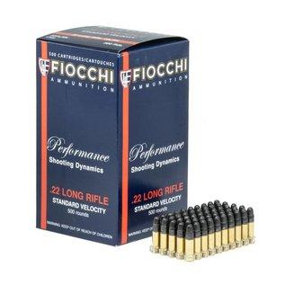 Fiocchi AMMO 22LR - Fiocchi LRN Lead Round Nose 40Gr (Box 50)