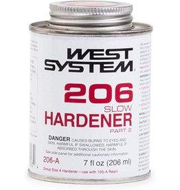 WEST SYSTEM WEST SYSTEM 206A SLOW HARDENER 7OZ