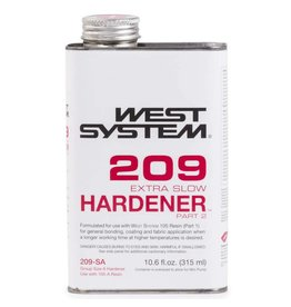 WEST SYSTEM WEST SYSTEM 209SA EXTRA SLOW HARDENER 10.6OZ