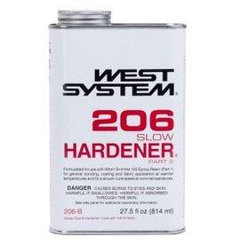 WEST SYSTEM WEST SYSTEM 206B SLOW HARDENER QUART