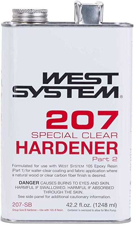 WEST SYSTEM WEST SYSTEM 207SB SPECIAL COATING HARDENER 42.2OZ