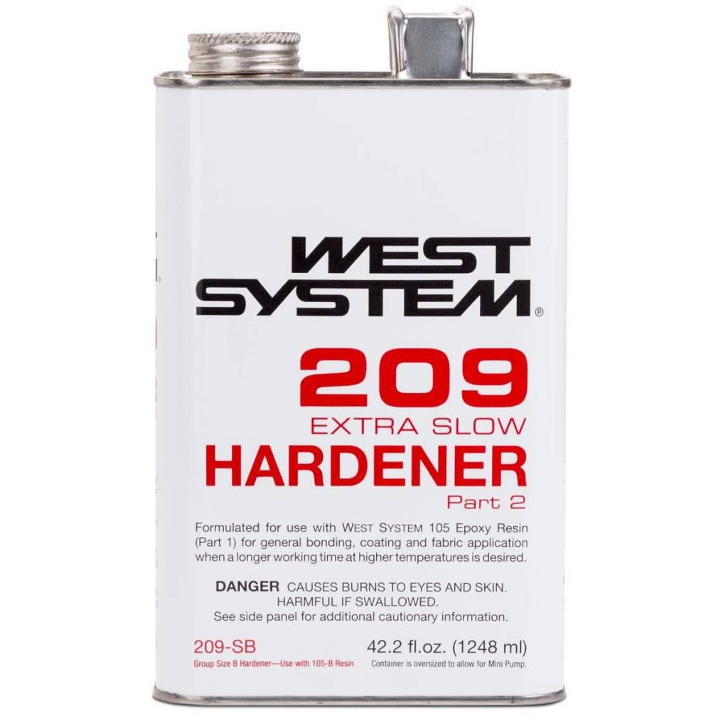 WEST SYSTEM WEST SYSTEM 209SB EXTRA SLOW HARDENER 42.2OZ