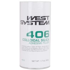 WEST SYSTEM WEST SYSTEM 406 COLLOIDAL SILICA ADHESIVE FILLER 1.7OZ