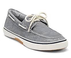 SPERRY SPERRY HALYARD SW GREY SNEAKER (MEN'S)