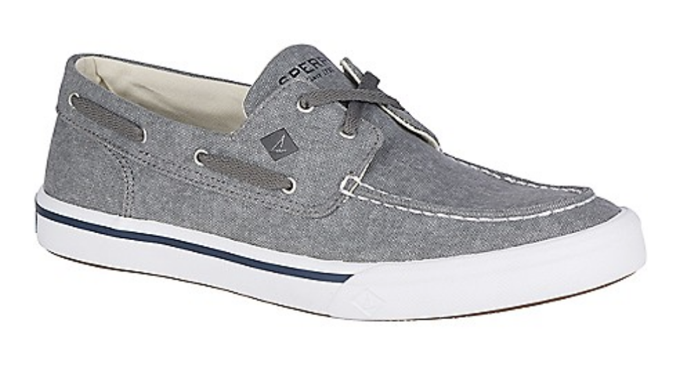 SPERRY Sperry Bahama II Boat Washed  - Grey (Men's)
