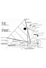LASER PERFORMANCE SUNFISH LOWER BOOM ASSEMBLY LP89414