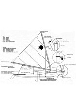LASER PERFORMANCE SUNFISH UPPER BOOM ASSEMBLY LP89415