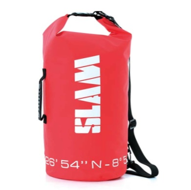 SLAM SLAM NAVEGANTES ROLL TOP WATERPROOF 30L BAG W/ HANDLE & STRAP