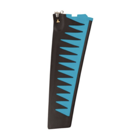 HOBIE® HOBIE MIRAGE SQUARE TIP TURBO FIN REPLACEMENT (BLUE)