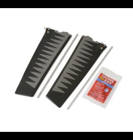 HOBIE® HOBIE GLIDE TECHNOLOGY SQUARE TIP TURBO FIN KIT V2 (GRAY)