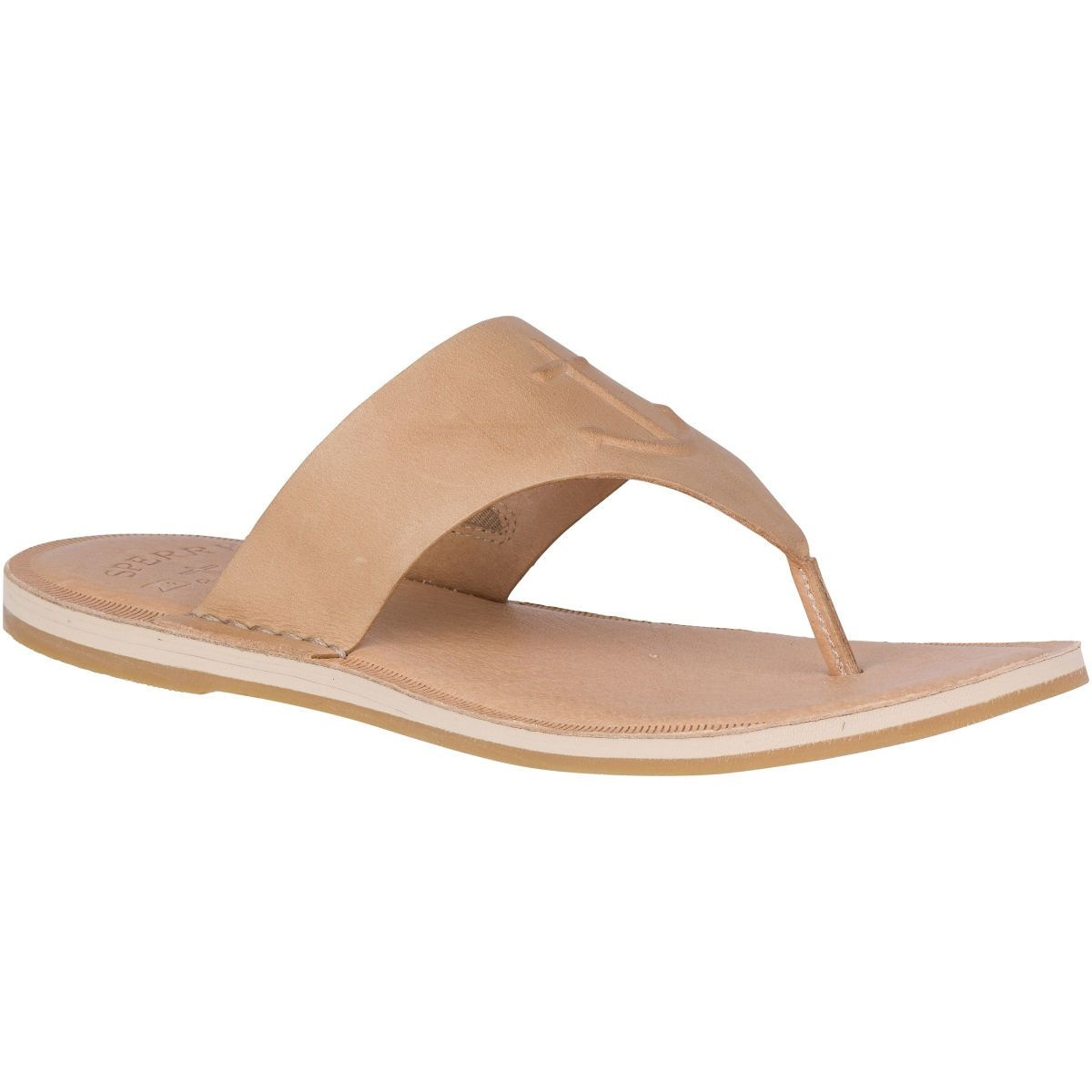 SPERRY SPERRY Seaport Leather Sandal - Tan (WOMEN'S)