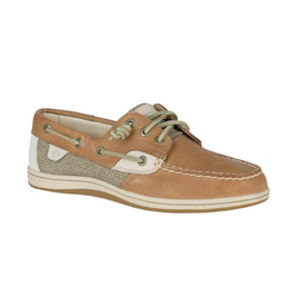 SPERRY SPERRY SONGFISH LINEN/OAT BOAT SHOE (WOMEN'S)