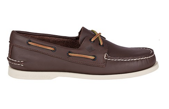 SPERRY SPERRY AUTHENTIC ORIGINAL BROWN BOAT SHOE (MEN'S)