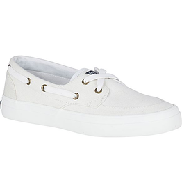 SPERRY Sperry Crest Boat Shoe White (WOMEN'S)