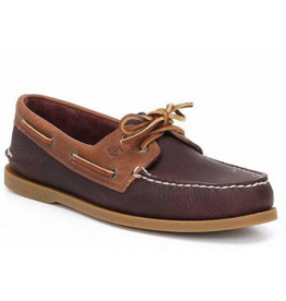 SPERRY SPERRY AUTHENTIC ORIGINAL DAYTONA BURGANDY BOAT SHOE (MEN'S)