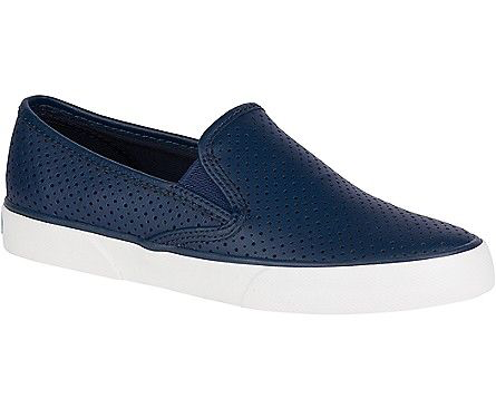 SPERRY SPERRY PIER SIDE CANVAS - NAVY (WOMEN'S) *CLEARANCE*