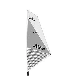HOBIE® HOBIE SAIL KIT SILVER/WHITE (FITS ALL MIRAGE KAYAKS)