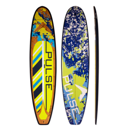 "PULSE PULSE TRADITIONAL 11""4"" STANDUP PADDLEBOARD PACKAGE (SPLATTER)"