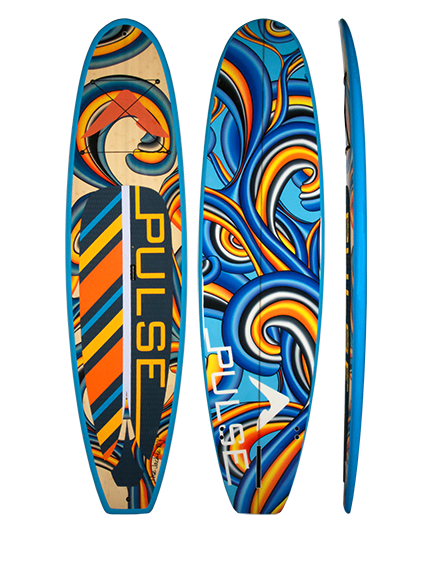 "PULSE PULSE TRADITIONAL 10""4"" STANDUP PADDLEBOARD PACKAGE (JACKIE)"
