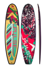 """PULSE PULSE TRADITIONAL 10""""4"""" STANDUP PADDLEBOARD PACKAGE (SQUIRT)"""