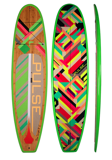"PULSE PULSE TRADITIONAL 10""4"" STANDUP PADDLEBOARD PACKAGE (TEAGER)"