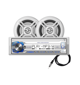 DUAL DUAL BLUETOOTH STEREO / SPEAKER COMBO KIT MCP136BT